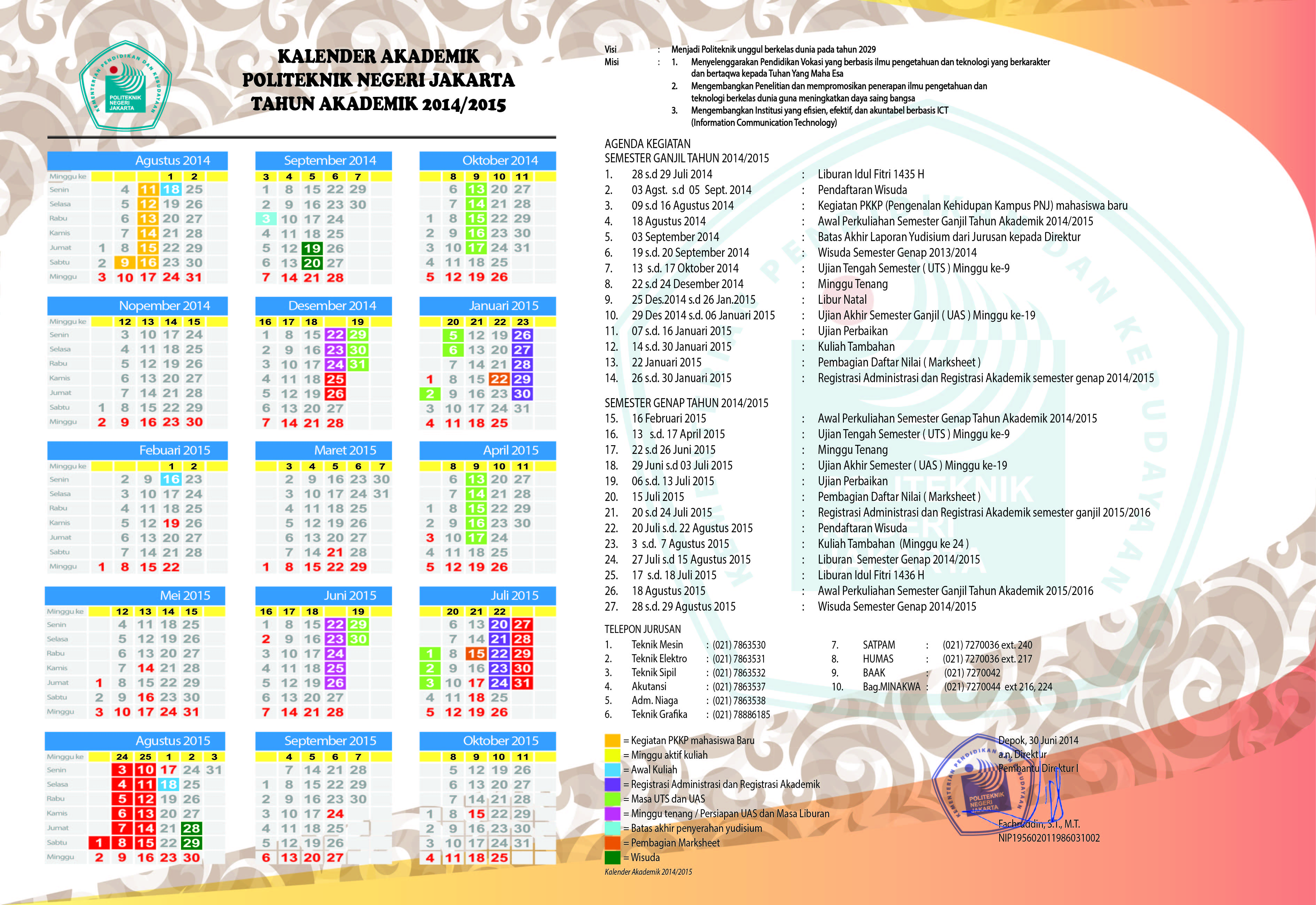 Kalender 2015 Indonesia Jpg Pictures to pin on Pinterest